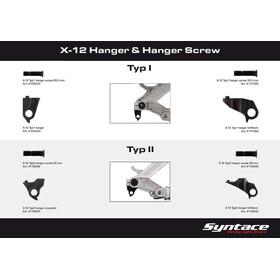 Syntace X-12 Schaltaugenschraube Typ 2 Standard/Direct Mount raceblack